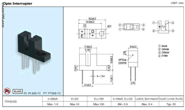 itr8307 典型电路