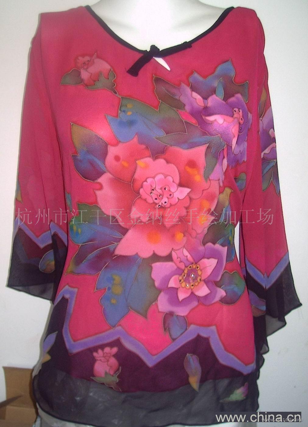 旗袍设计彩绘稿