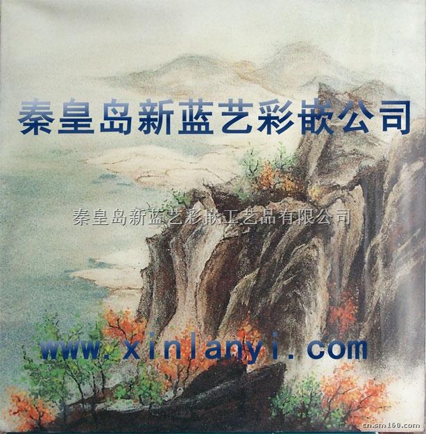 供应景泰蓝沙画图片-秦皇岛新蓝艺彩嵌工艺品有限