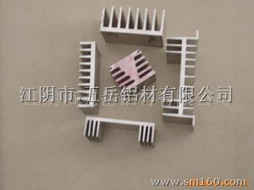 供应散热器铝型材高清图片