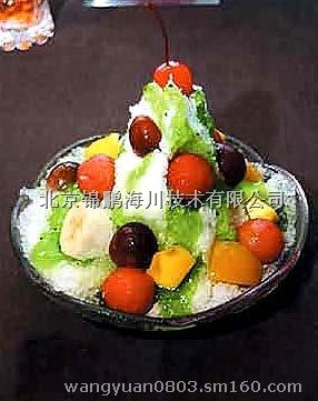 水果冰花制作步骤