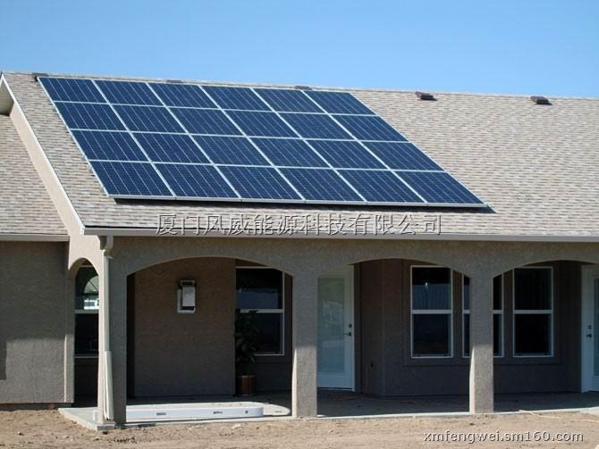 厦门市翔安区安装屋顶太阳能板支架图片