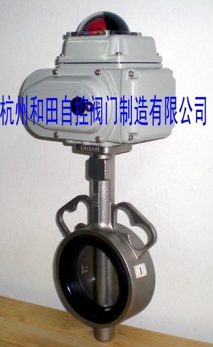 供应电动不锈钢蝶阀,不锈钢对夹式蝶阀图片