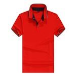 高爾夫珠地polo衫定制企業文化衫制作