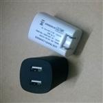 雙USB充電器 CE認證 雙USB美規充電器