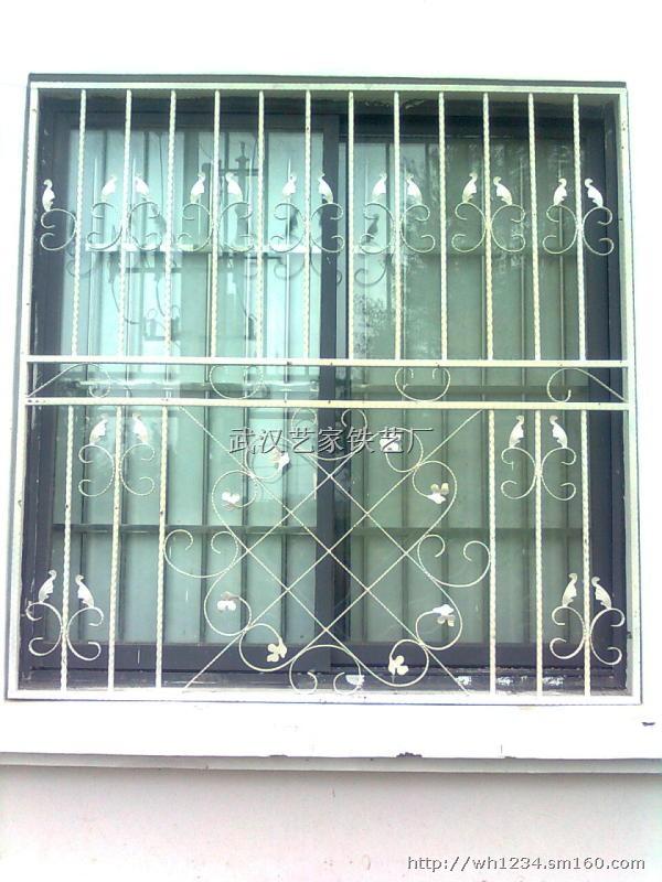 【武汉欧式定制铁艺防盗窗】金属门窗批发价格
