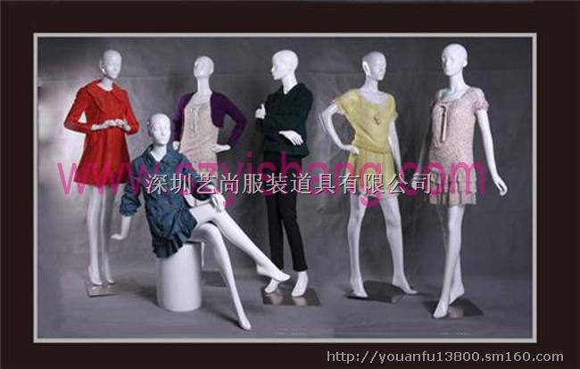 深圳生产模特道具,橱窗模特,艺尚模特厂