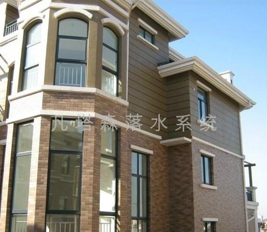 别墅楼顶天沟设计图