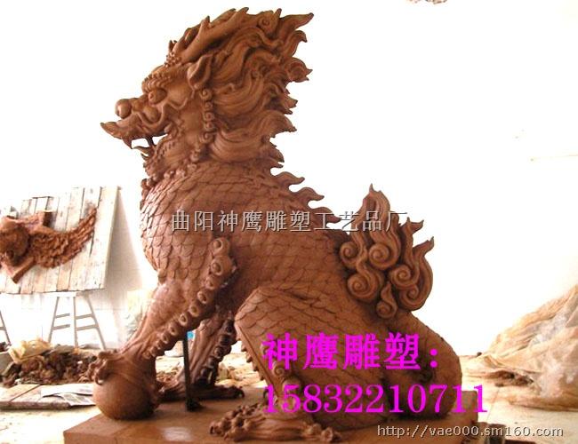 动物泥塑定做首选神鹰雕塑厂