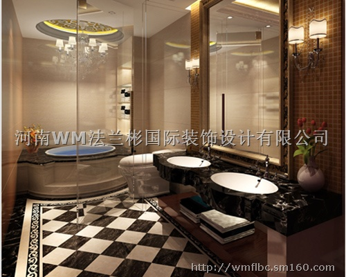 ktv洗手间装修效果图