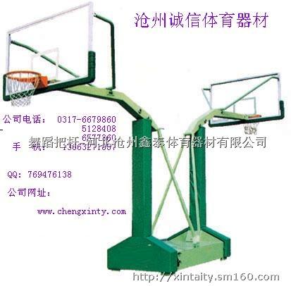 篮球架安装,电动液压篮球架,金陵篮球架图片