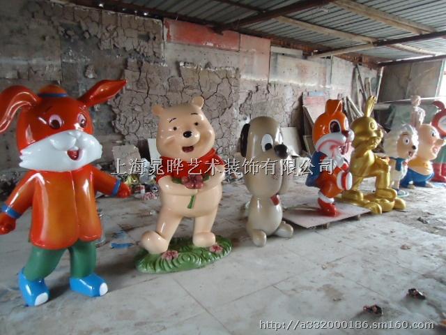 动物雕塑制作玻璃钢产品