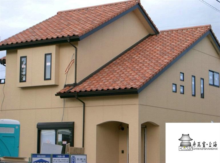 供应高质量别墅屋面瓦高档自建房瓦/私宅定制屋面瓦