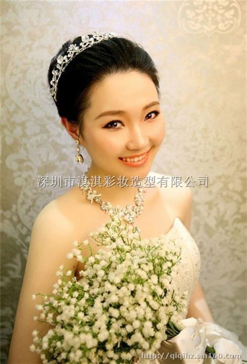 鹤洲新娘化妆淇淇化妆(在线咨询)2016新娘化妆图片