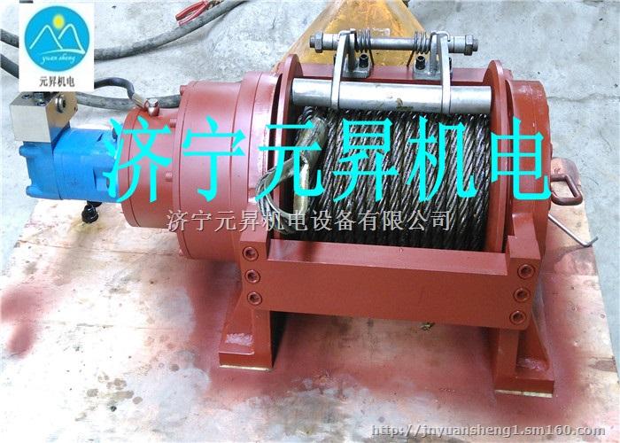 特种车牵引装置液压绞盘10吨12吨动力足图片