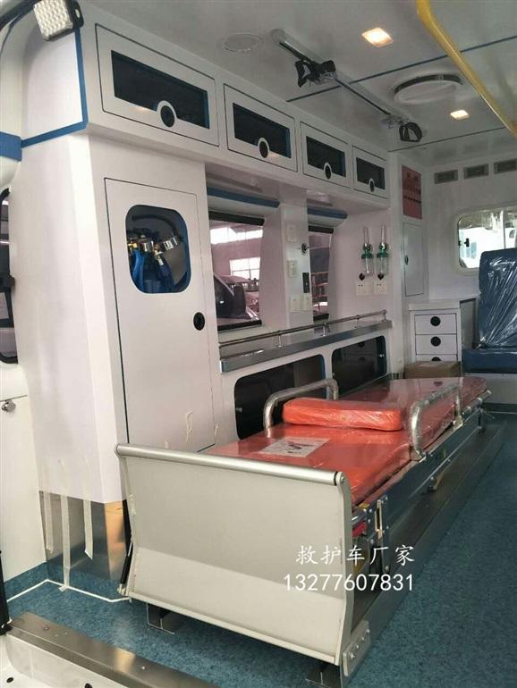 江铃全顺新款长轴救护车图片