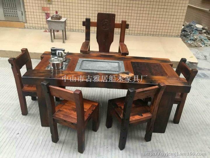 【老船木阳台客厅茶桌】其他批发价格,厂家,图片,采购