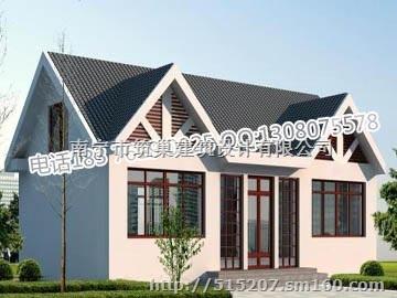 100平方米左右簡潔一層新農村房子設計圖