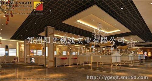 商场眼镜柜台效果图阳光视线眼镜店装修报价深圳眼镜店