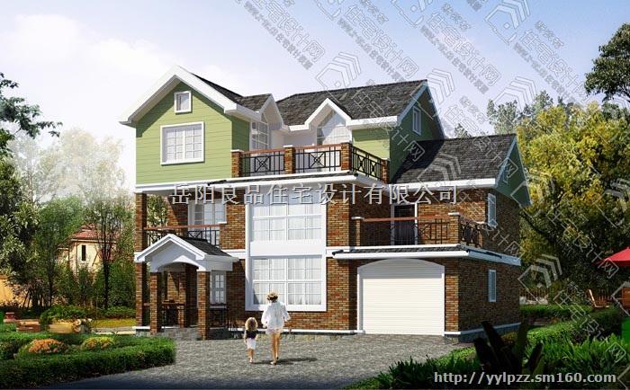 新农村三层独栋住宅,别墅设计图纸