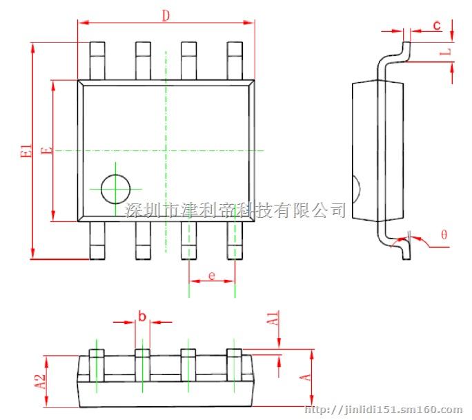 电阻多级adc模拟采样电路