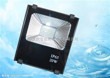 LED 足功率 投光灯 5054贴片 20W