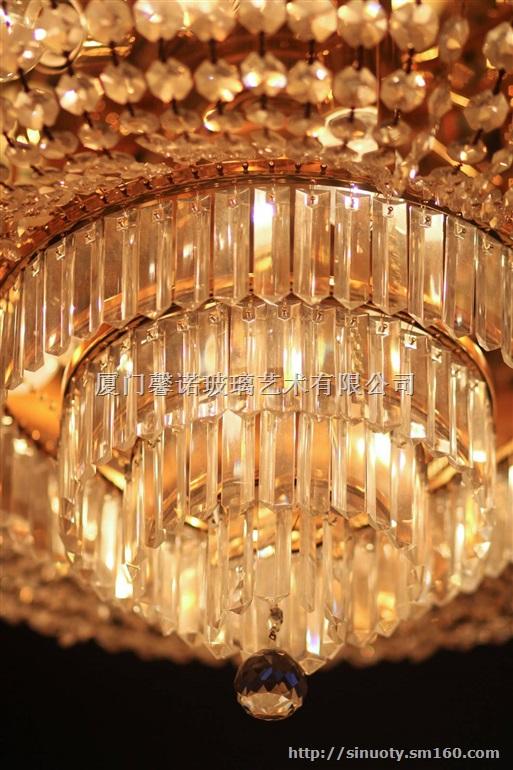供应圆形特色欧式风格艺术水晶灯