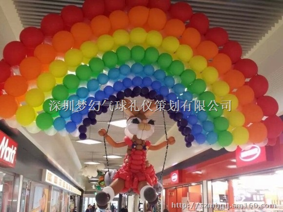 开业典礼气球装饰