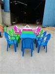 城阳塑料桌椅,莱西大排档桌椅,胶南塑料桌椅批发