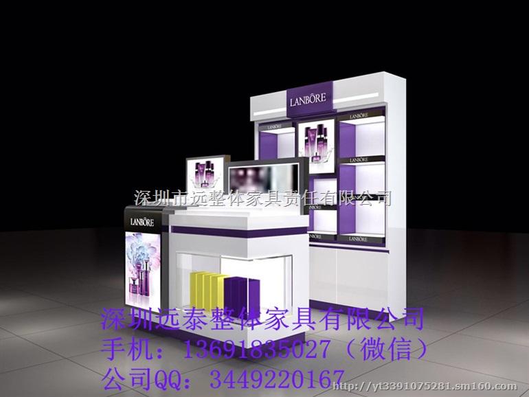 高档新款化妆品展柜精油展柜厂家直销化妆品商场展柜