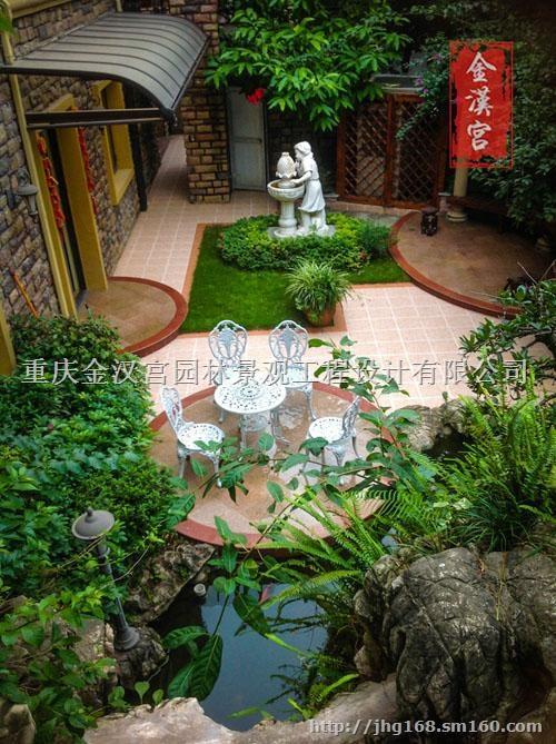 南川私家花园金汉宫园林景观公司欧式私家花园