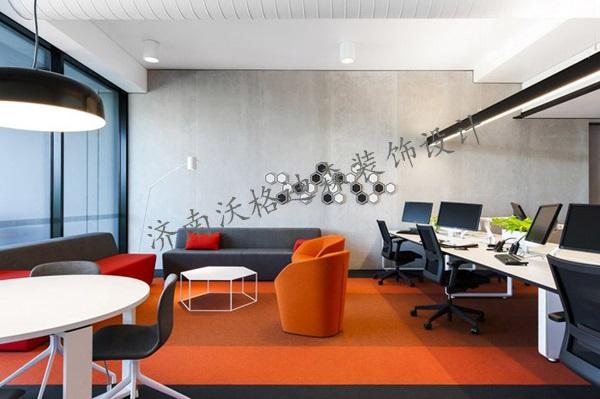 办公室装修设计如何做到最实用济南沃格迪森装饰设计