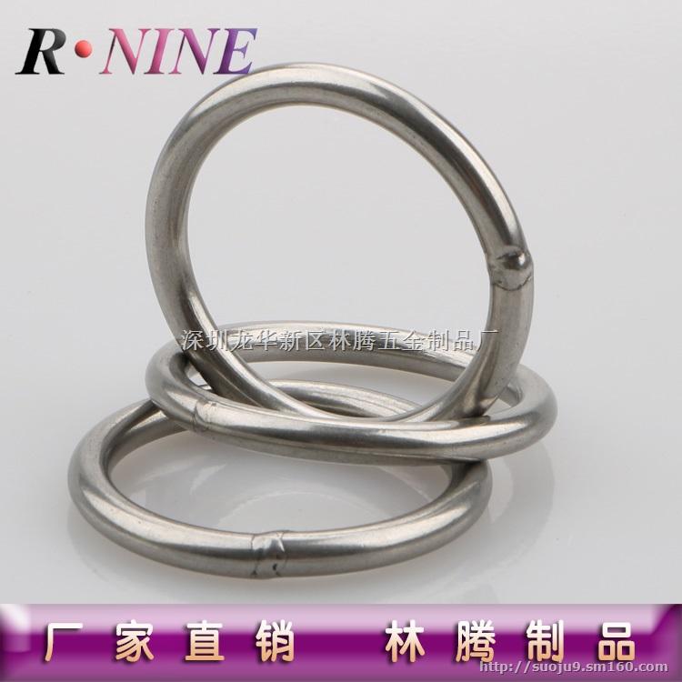 圆环规格4*35 外径35MM 不锈钢圆环一般没有现货,需要加工订做,是工业品,有焊接点,要求看不出焊接处,目前我司提供了。圆环属于连接配件,用于体育运动,旅游、起重业等。圆环材质以201 、304为主。 标价只为上传产品使用,如有产品需要请与我们联系18925957535,我们会根据你所需的产品规格,型号,材质,数量报优惠的价格,给你带来的不便,敬请理解 谢谢!