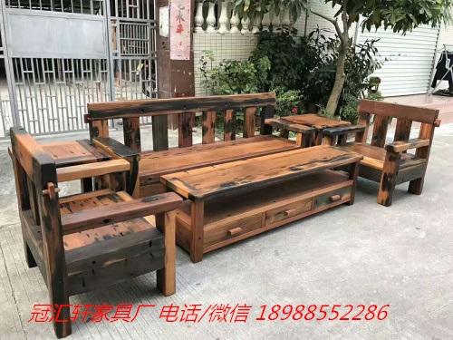 中山船木沙发
