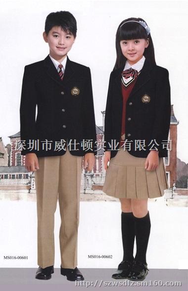 威仕顿服装是一家专业的校服厂家,主要生产中学生校服,小学生校服图片