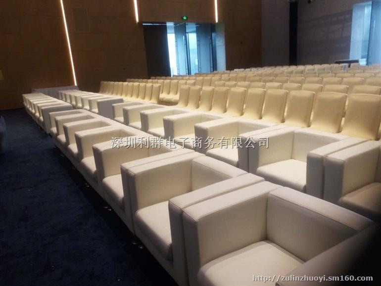 深圳单人沙发双人沙发三人沙发椅白色皮革沙发椅出租赁