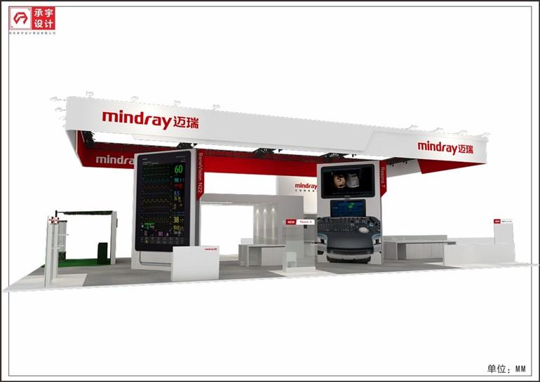 医疗器械展台设计搭建,展览设计制作,展厅设计公司图片