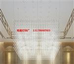 铭星灯饰LED满天星方格吊灯售楼部沙盘区光立方吊灯