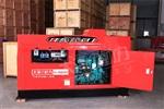 400A柴油发电电焊机静音式车载