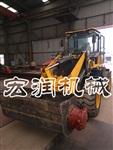 供应铲车式铲斗搅拌车  自动装载移动式混凝土搅拌车