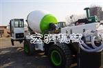 生产混凝土搅拌车  自动装载移动式混凝土搅拌车