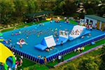 支架水池支架游泳池水上乐园充气水滑梯厂家直销支持定