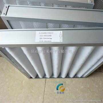 初效铝框活性炭龙骨折叠式 空气过滤器 活性碳过滤器