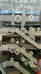 商场大型中庭LED蒲公英发光球吊饰厂家首选铭星灯饰