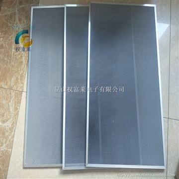 铝基光触媒网光触媒滤网UV光解高效催化分解铝基