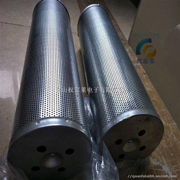 化学过滤器 圆孔镀锌板活性炭过滤筒 环保空气滤芯