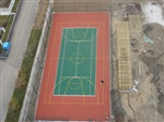 网球场施工、丙烯酸网球场施工、硅PU网球场施工