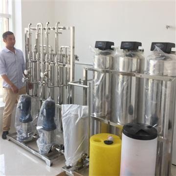 口罩生产厂纯化水设备 纯化机厦门纯化水机代加工