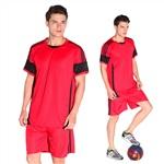 808紅色足球訓練服