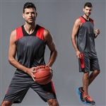 519深灰色篮球服